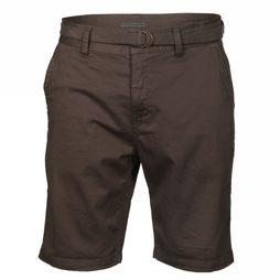 Brunotti Short Cabber Mens Donkerkaki