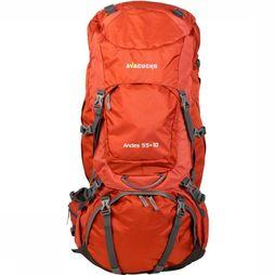 Ayacucho Backpack Andes 55+10 rust