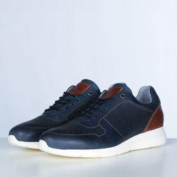 River Woods Sneaker Tomas dark blue/camel