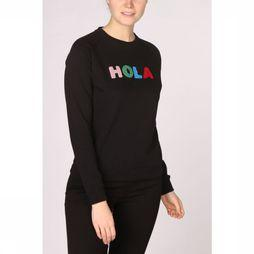 Sugarhill Boutique Pull Laurie Hola Adios Noir