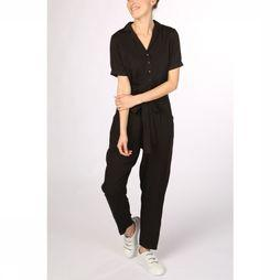 Sugarhill Boutique Jumpsuit Madison Side Stripe Zwart/Rood