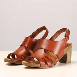 Hee Sandal 19061 mid brown
