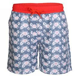Knot so bad Zwemshort Crabs Blauw/Assortiment