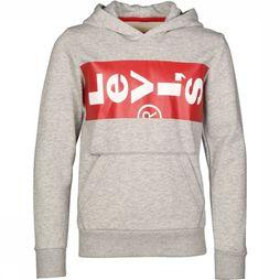 Levi's Kids Pullover Lazyhoody Light Grey Mixture