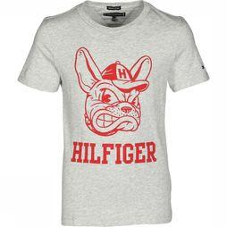Tommy Hilfiger T-Shirt Th Kb0Kb04541 Gris Clair Mélange