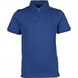 Tommy Hilfiger Polo Th Essential Slim Polo Koningsblauw