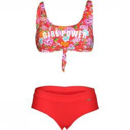 Banana Moon Bikini Nouo Sunbay+Bia Beachbabe red/Assortment Flower