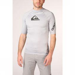 Quiksilver Lycra All Time Ss Gris Clair Mélange