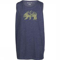 United By Blue Kids T-Shirt Grizzly Bleu Foncé