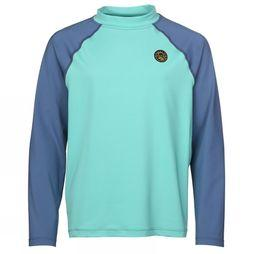 United By Blue Kids T-Shirt Rash Guard Turquoise
