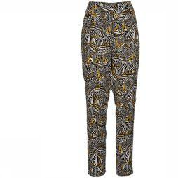 Orfeo Trousers Boyne black/dark yellow