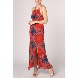 Superdry Dress Boho Maxi Mid Red/Marine