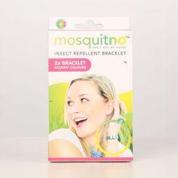 Mosquitno Insectenwering Trendy Rep Bracelet 2-Pack + Free Clip Citriodiol Assortiment