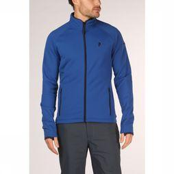 Peak Performance Fleece Chill Zip Blauw