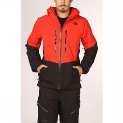 The North Face Manteau Chakal Rouge/Noir