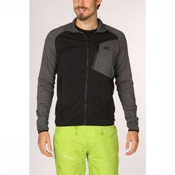 Millet Fleece Seneca Tecno Dark Grey Mixture/Black