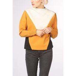 Maison Scotch Pullover 150682 light grey/orange