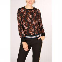 Maison Scotch Shirt 152486 black/Assortment Flower