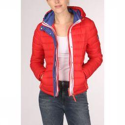 Superdry Jas Fuji Slim Double Ziphood Middenrood