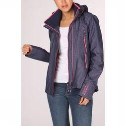 Superdry Manteau Tech Velocity Sd-Windcheater marine/Rose Moyen