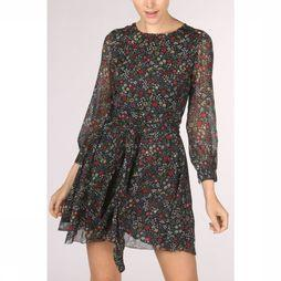 Pepe Jeans Dress Candela Marine/Assortment Flower