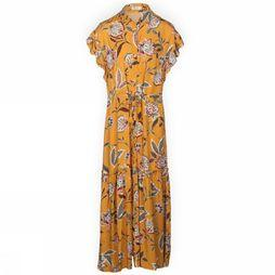 Orfeo Dress Kimi dark yellow/Assortment Flower