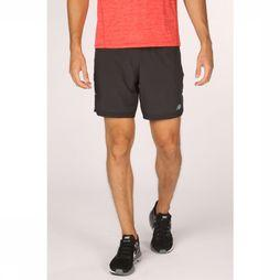 New Balance Short Q Speed Run Crew Noir