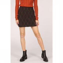King Louie Skirt Olivia Argyle black/rust
