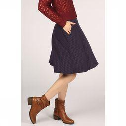 King Louie Skirt Sofia Midi Peroni Marine/Bordeaux