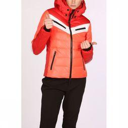 Fire + Ice Coat Farinad red/orange