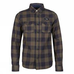 Petrol Shirt B-3090-Sil417 mid khaki/Assortment