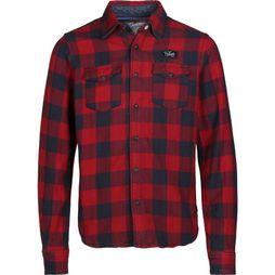 Petrol Shirt B-3090-Sil417 red/Assortment