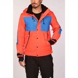 Superdry Jas Sd Mountain Oranje/Koningsblauw