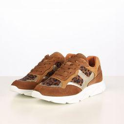 Tango Shoes Sneaker Kady 1-H mid brown/gold