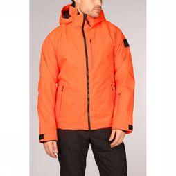 Fire + Ice Coat Eagle orange