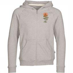 United By Blue Kids Pull Zip-Up Hoodie Hangin' Out Gris Moyen