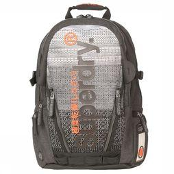 Superdry Daypack Knit Tarp Backpack black/mid red