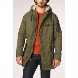 Superdry Manteau Winter Aviator Parka Kaki Foncé