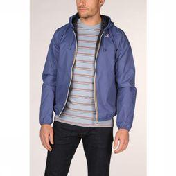 K-Way Jas Jacques Plus Double Middenblauw/Donkerblauw