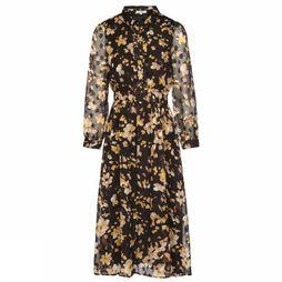 FRNCH Dress Andrine black/Assortment Flower