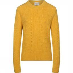 FRNCH Pullover North dark yellow