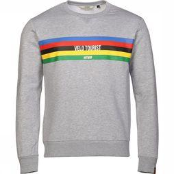 Antwrp Pullover 2001-Bsw002 Light Grey Mixture