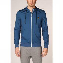 Lyle & Scott Pull Superwick Fz Midlayer Bleu Pétrole