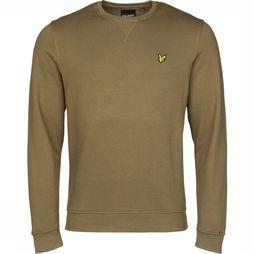 Lyle & Scott Trui 2001-Ml424 Donkerkaki