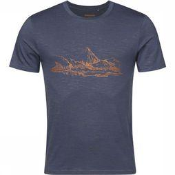 Ayacucho T-Shirt Mountain Lake Am Marine