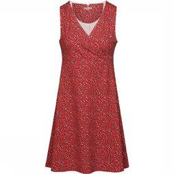 Ayacucho Dress Flora red/black