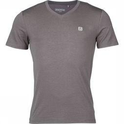 Ayacucho T-Shirt Vic V-Neck Am Gris Foncé
