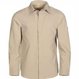 Ayacucho Chemise Equator II Stretch Am Brun Sable