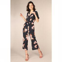 FRNCH Jumpsuit Magalie Donkerblauw/Assortiment Bloem