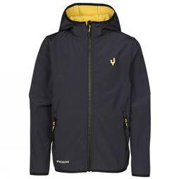 Ayacucho Junior Softshell Viscon dark blue